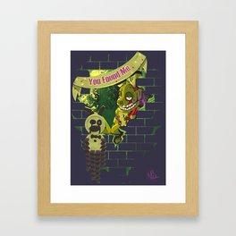We Love Springtrap Framed Art Print
