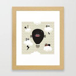 Japanese Fairy Tale \\ Piece 4 Framed Art Print
