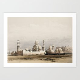 Tombs of The Memlooks, Egypt (1849) Art Print