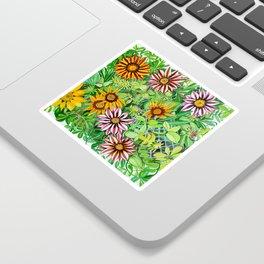 Gazanias Sticker