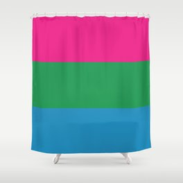 Poly Pride Shower Curtain
