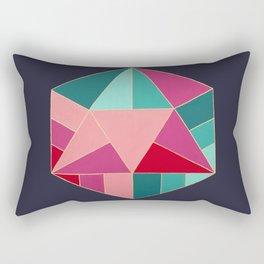 Icosahedron Rectangular Pillow