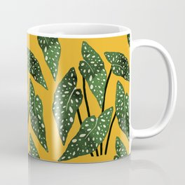 Begonia maculata pot watercolor Coffee Mug