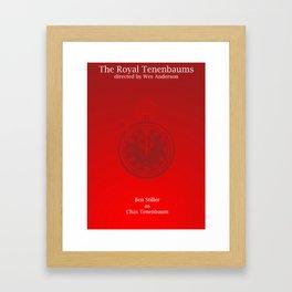 Chas Tenenbaum Framed Art Print