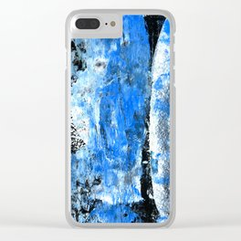 Mess abstract n.4 Clear iPhone Case
