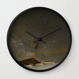 the Milky Way, Sagittarius and Antares on the Sierra Nevada National Park Wall Clock
