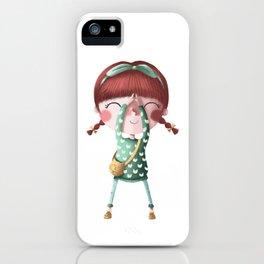 A de Tina iPhone Case