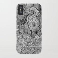 Doodle 3 iPhone X Slim Case