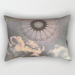 Sky Mandala II Rectangular Pillow