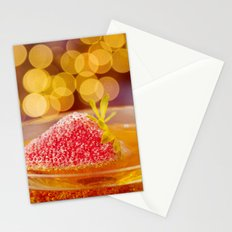 Strawberries and Champagne Stationery Cards