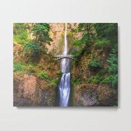 Chasing Waterfalls Metal Print