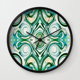French Ivey Wall Clock