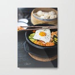 Korean Bibimbap Metal Print