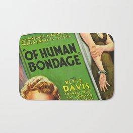 Vintage poster - Of Human Bondage Bath Mat