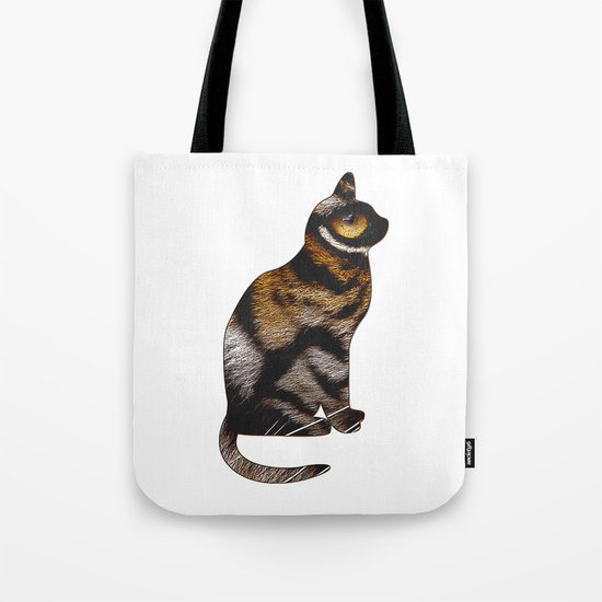 THE TIGER WITHIN Tote Bag