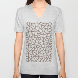 Gridlock One Unisex V-Neck