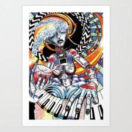 Maid of Honor Art Print
