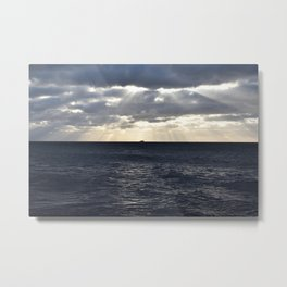 Ferry on the Baltic Sea Metal Print
