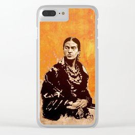 FRIDA KAHLO - the mistress of ARTs - quote Clear iPhone Case