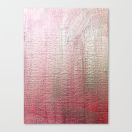 Metalic pink shimmer sheen background Canvas Print