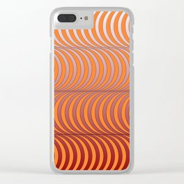 Op Art 4 Clear iPhone Case