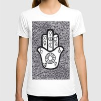 hamsa T-shirts featuring hamsa by smurfmonster