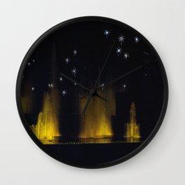 Longwood Gardens Christmas Series 29 Wall Clock