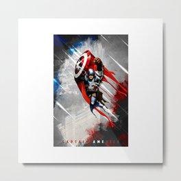 america soldier Metal Print