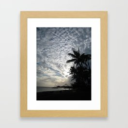 KAHALA SKIES Framed Art Print