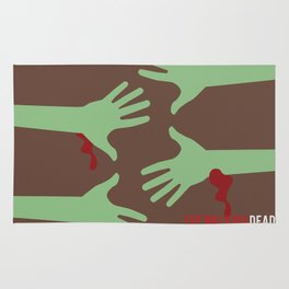 The Walking Dead - Minimalist Rug