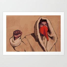 At Standing Rock 6 Art Print