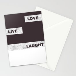 Love live laught Stationery Cards