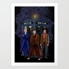 The best regeneration of Doctor who iPhone 4 4s 5 5s 5c, ipod, ipad, pillow case and tshirt Art Print