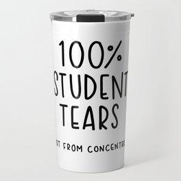 100% Student Tears Travel Mug