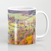 tennessee Mugs featuring Tennessee Country 2 by Mary Timman