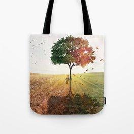 Two Seasons by GEN Z Tote Bag