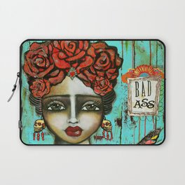 FRIDA PAINTING BAD ASS Laptop Sleeve