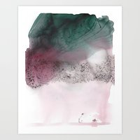 Looking For Warm Places In Cold People Art Print