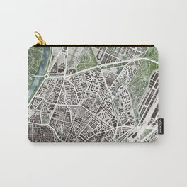 Sevilla city plan Carry-All Pouch