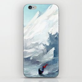 Adventure with you iPhone Skin