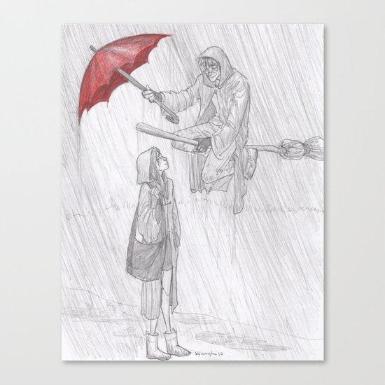 Rainy Monday Canvas Print