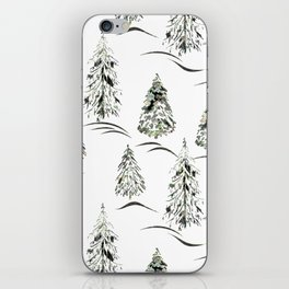 Winter forest. iPhone Skin