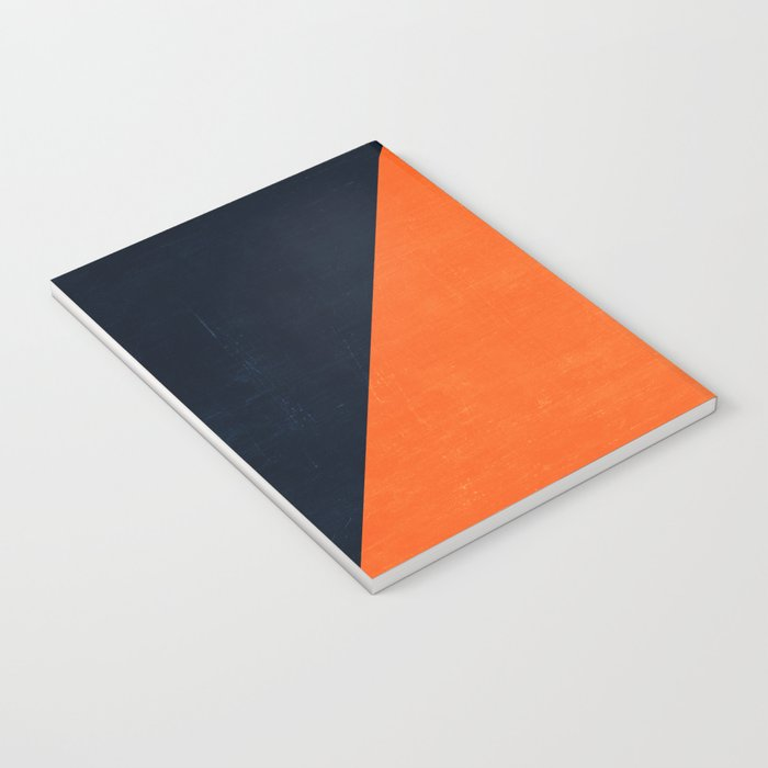 mod triangles - autumn Notebook
