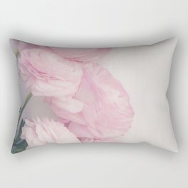Pink Peonies Rectangular Pillow