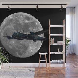 Bomber's Moon Wall Mural