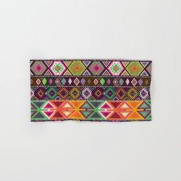 Aztec Artisan Tribal Bright Hand & Bath Towel