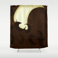narnia Shower Curtains featuring Tumnus by MadeByJenni