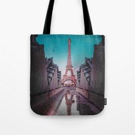 An Eye Full of the Eiffel Tote Bag