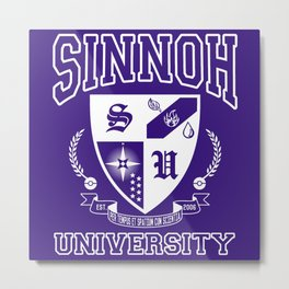 Sinnoh University Metal Print
