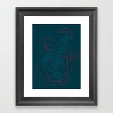 Shadow Mayhem Framed Art Print